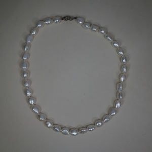 Sterling Silver (.925) & Freshwater Pearl Necklace